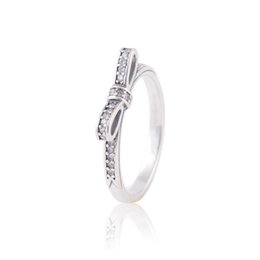Wholesale Engagement Rings For Sale - ladies silver rings crown silver jewelry S925 sterling silver fits for pandora style hot sale for women girl brand quality RIP108