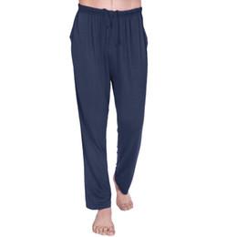 Wholesale Brand Lounge - Wholesale-New Brand Men Sports Yoga Pants Clothing Casual Trousers Lounge Loose Pantaloons Trunks Gym Homewear