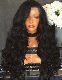 "chinelo bang corpo onda cabelo Desconto Perucas dianteiras do laço da densidade de 180% 12-24 ""perucas completas do cabelo humano do laço para mulheres negras perucas encaracoladas malaias do cabelo humano da parte dianteira do laço da peruca"