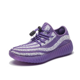 Wholesale Pink Rubber Buy - Eu26-36 Kids Running shoes Knited top thick Rubber sole Let your kids fly freely You buy I gurantee factory prices