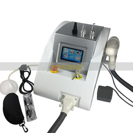 Wholesale Machines Tighten Skin - 1064nm 532nm Q Switched Nd Yag Laser Tattoo Eyebrow Pigment Removal Machine Scar Acne Remover