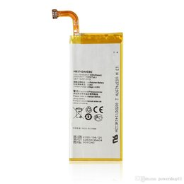 Wholesale Huawei Ascend Battery - Genuine 2000mAh HB3742A0EBC Battery For Huawei Ascend G6 Ascend P6 P6-U06 p6-c00 p6-T00