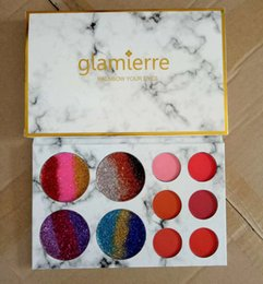 Wholesale Easy Come - makeup palettes Glamierre Glitter Palette coming shortly ! 4 mixed glitter colors and 6 cream matte eyeshadow that double as blush