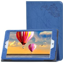 """Wholesale Wholesale Os Windows Tablets - 30pcs Print Flower PU Leather Cover for Teclast X80 Power 8"""" Dual OS Windows Tablet Printed Floral Case + Clear Screen Protector Film"""