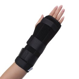 Wholesale Brace Splint - Wholesale-Wrist Brace Support Splint For Carpal Tunnel Arthritis Sport Sprain Strain Pain