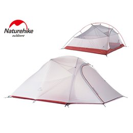 Wholesale Product Families - NEW product NatureHike Tent 4 seasons Outdoor Portable Double-layer Camping Tents For 3 Person Lightweight Waterproof PU 8000mm