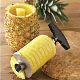 Wholesale Cooking Cutter - Hot new gadgets fruit peelers zesters Pineapple Corer Slicers peeler Parer Cutter Kitchen Easy Tool cooking tools