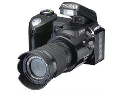 Wholesale Cheap Camcorders Hd - Wholesale Digitales Camara Appareil Photo Hot Sale Popular Fashion D3000 16mp Hd Dslr Camera W  16x Telephoto & Wide Angle Lens Cheap