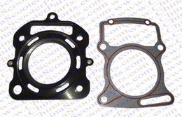 Wholesale gaskets kit - Wholesale- 67mm Cylinder Gasket Kit water cooled 250CC Zongshen Shineray Bashan Taotao Dirt Pit Bike ATV Quad
