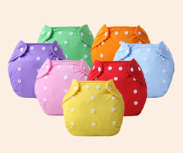 Wholesale Diaper Water - 20pcs Baby Cotton water proof Soft Diaper Nappies Cover Reusable Washable Size Adjustable spring summer autumn winter button Diapers YTNK001