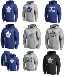 Wholesale Hoodie Kids - 2017 NHL Auston Matthews Toronto Maple Leafs Name & Number Sweatshirts & Hoodies for man women kid