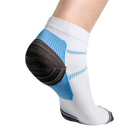 Wholesale Cool Boy Socks - Wholesale-Rushed Unique Plantar Fasciitis Heel Arch Pain Relieving Compression Socks Best Gift To Cool Men Boys