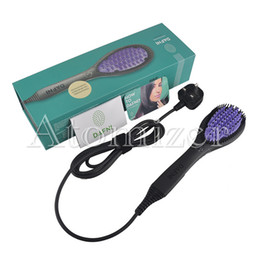 Wholesale New Retail Products - Electric Hair Straightners Black Hair Care Styling Tools with Retail Box US EU Plug New Products hair straightening