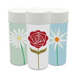Wholesale Personalized Kids Cups - Plastic Insulated Sun Flowers Kids Cute Water Bottles 300ml Gift BPA Free Art Personalized Modern Minimalist Cottage Drink Cup