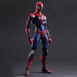2017 jouet à araignée Red Spider-Man, Joint Movable, Anime Frontline Toy Boxed Model Hand-made Spider-Man Hand Spider-Man jouet à araignée à vendre