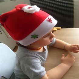 2019 sombreros de alegría Nueva Navidad Kid Cheer Sombrero de Navidad Niños Santa Claus Reno Muñeco de nieve Fiesta de Navidad Gorra Popular Popular sombreros de alegría baratos