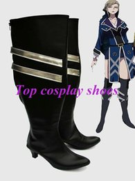Wholesale Cosplay K Anime - Wholesale-Freeshipping custom-made anime K Seri Awashima Cosplay Shoes Boots from K for party Halloween Christmas festival