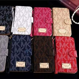 Wholesale Iphone Flip Wallet Case - For iphone x Case Wallet Flip Leather Cases Card Pocket with Lanyard Pouch Full Cover Case for iphone x 7 8 6 6s plus Samsung s7 s6 s8 Note8