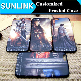 Wholesale Game Iphone Cover Case - Customized Famous Game Character Case Frosted Hard PC Back Cover for iPhone 6 6s Plus 5 5s se
