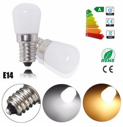 Wholesale Ses Bulbs - AC220V New Mini LED Light Bulb E14 1.5W SES Fridge Freezer LED SMD Lamp Spotlight Bulbs Chandeliers Lighting 80-90 LM