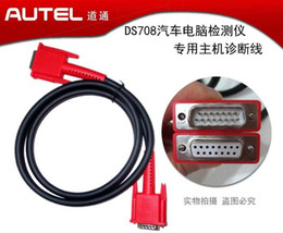 Wholesale Auto Repair Software Free - 100% Origianl Autel Maxidas DS708 Main Cable 708 Test Cable OBD-II for Auto Autel Diagnostic tools OBD 2 Cable Free Shipping