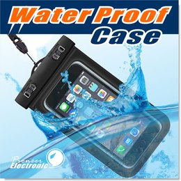 waterproof pvc handbags Promo Codes - For Iphone 7 Dry Bag Waterproof bag PVC Protective Mobile Phone Bag Pouch With Compass Bags For Diving Swimming For iphone 6 S7 NOTE 7