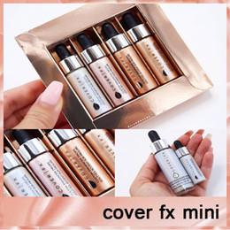 Wholesale Vs Cover - Mini Cover fx face liquid Highlighter makeup set glow custom enhancer Drops VS COVER FX Enhancer drops DHL free660191