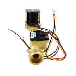 Wholesale Pressure Solenoid - 3 4'' DC 24V Completely flowmeter with brass solenoid valve integration max water pressure 2.0mpa with wholesale price