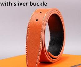 Wholesale Leather Cummerbund Belt - 2017 New Mens Belts Men's Leather Brands Jeans Belt Cummerbund Belts For Men Women Metal Buckle Luxury Designer Belts Men come with BOX