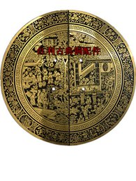 Wholesale Chinese Door Handle Locks - Classic antique copper copper fittings bonus round handle     Chinese door wardrobe handle 100 graph  24cm