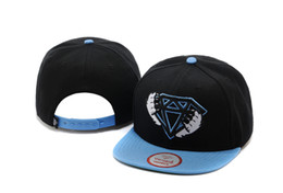 Wholesale Girl Diamond Snapback Hats - 2016 Fashion New Baby Boys Girls Snapback Hat Sports Caps Baseball Cap Kids Children Diamond Print Hats Beanies 3-8 YearsBaseball cap Diamon