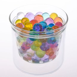 Wholesale crystal ball mud - Lot of 50 bags   Lot Multicolor Crystal Mud Soil Water Bead Flower Plant Ball Party Wedding Drop Shipping