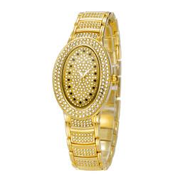 Wholesale Diamante Alloy - Relojes Chinas Calientes El Diamante de lujo de la Moda de Relojes De Acero Inoxidable Resistente al Agua Reloj de Cuarzo de la Batería