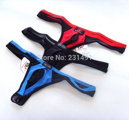 Wholesale Lycra G Thongs - Sexy G String New Style Men's Briefs Thong Breathable Men Underwear
