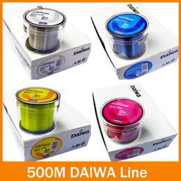 Wholesale Braided Fishing Line 12lb - Hot Salell!! Free Shipping fishing line 500m Monofilament Strong Quality Color Nylon Fishing Line 8LB 10LB 12LB 16LB 20LB 25LB