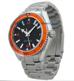 Relógios De Luxo Pulseira De Aço Inoxidável Pre-Owned mas Não Usado Pro Planeta Homens Oean 232.30.42.21.01.002, 42mm Mecânica RELÓGIO DE HOMEM relógio de Pulso de
