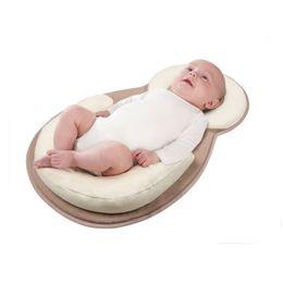 Wholesale Mattress Cool - Wholesale- Baby Pillow Correct Sleeping Position Kids Pillow Children Room Baby Kissen Rollover Prevention Mattress 0 to 12months
