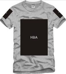 Triller t-shirts online-Freies Verschiffen chinesische Größe S - 3XL 2014 Sommert-shirt Haube durch Luft HBA X Trill Kanye freier Raum druckte Hba T-Stück Männer T-Shirts 5 Farbe 100% Baumwolle