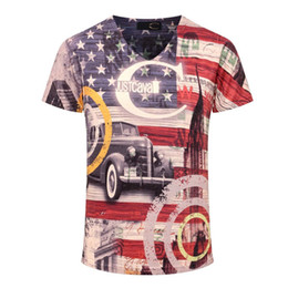 mens wholesale designer clothes Coupons - Wholesale-Mens Summer Tee New Man Shirt Short Sleeve t shirt Printed Cotton T-shirts Men 3D Designer Clothing Plus Size M-3XL