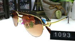Wholesale Transparent Polarized Glasses - 2018 luxury brand aviator sunglasses for men women unisex retro big frame glasses transparent clear lenses brand designer sunglasses