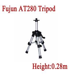 Wholesale Mini Laser Level Tripod - Wholesale-AT280 Tripod 5 8 inch Connection screw Infrared laser levels Mini Portable Tripod 0.28m high