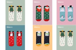 Wholesale 3d Penguin - New Cotton Winter Socks Christmas Adults Man woman Socks Penguins,Polar Bear,Santa Claus,Snowman,Christmas Tree 3D printing socks C1532