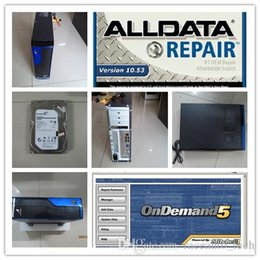 Wholesale Free Computer Software - Alldata 10.53 repair software Mitchell on demand 2015 newest version 2in1 2000gb hdd installed in computer ready to work dhl free shipping