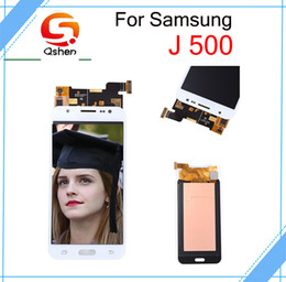 Wholesale One Touch Panel - For Samsung Galaxy J500 Lcd Display Touch Screen Digitizer Assembly High Copy One By One Check