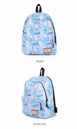 Wholesale Ladies Floral Backpack - Art classic size waterproof backpack travel bag printing canvas backpack