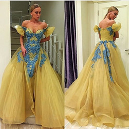 Wholesale Plum Chiffon Dress - Sexy Applique Plum Evening Dresses Chiffon Beads Off Shoulder Capped 2018 Long Party Prom Dresses Pageant Gown Robe De Soiree