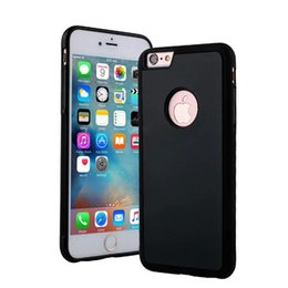 Wholesale Housing For Iphone Green - for iPhone 7 Housing Anti-gravity Phone Case For iPhone 6 6s Plus For iPhone 7Plus Magical Nano Suction Cover Adsorbed Car Antigravity Cases