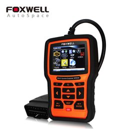 Wholesale Airbag Service Tool - FOXWELL NT510 Full System Automotive Diagnostic Tool ABS SRS Airbag Crash Data SAS EPB Oil Service Reset For Nissan BMW Opel VAG