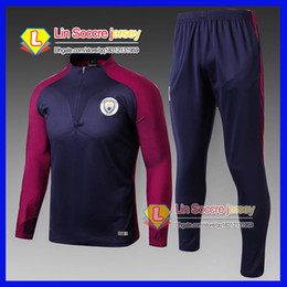 Wholesale Best Red Wines - 2016 tracksuits 2017 18 best quality benfica survetement football Real Madrid training suit sweat top chandal soccer kit football pant