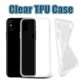 Wholesale For iPhone Thick TPU Case Samsung Note Cases Galaxy S8 Plus Clear Soft TPU Case High Quality mm Soft Transparent gel Case Opp Bag